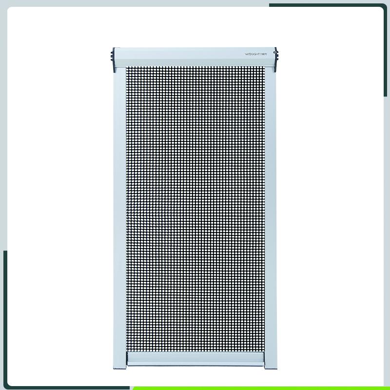 玻纤窗纱应用于按钮式隐形纱窗