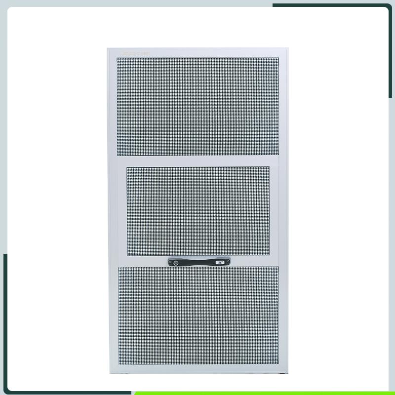 金刚网窗纱应用于防盗提拉纱窗