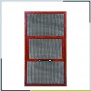 隐形窗纱应用于防蚊提拉纱窗