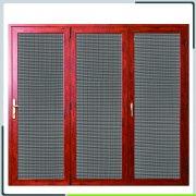 304L金刚网窗纱应用于折叠纱门